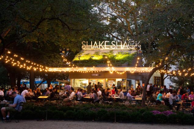 Shake Shack no Madison Square Park