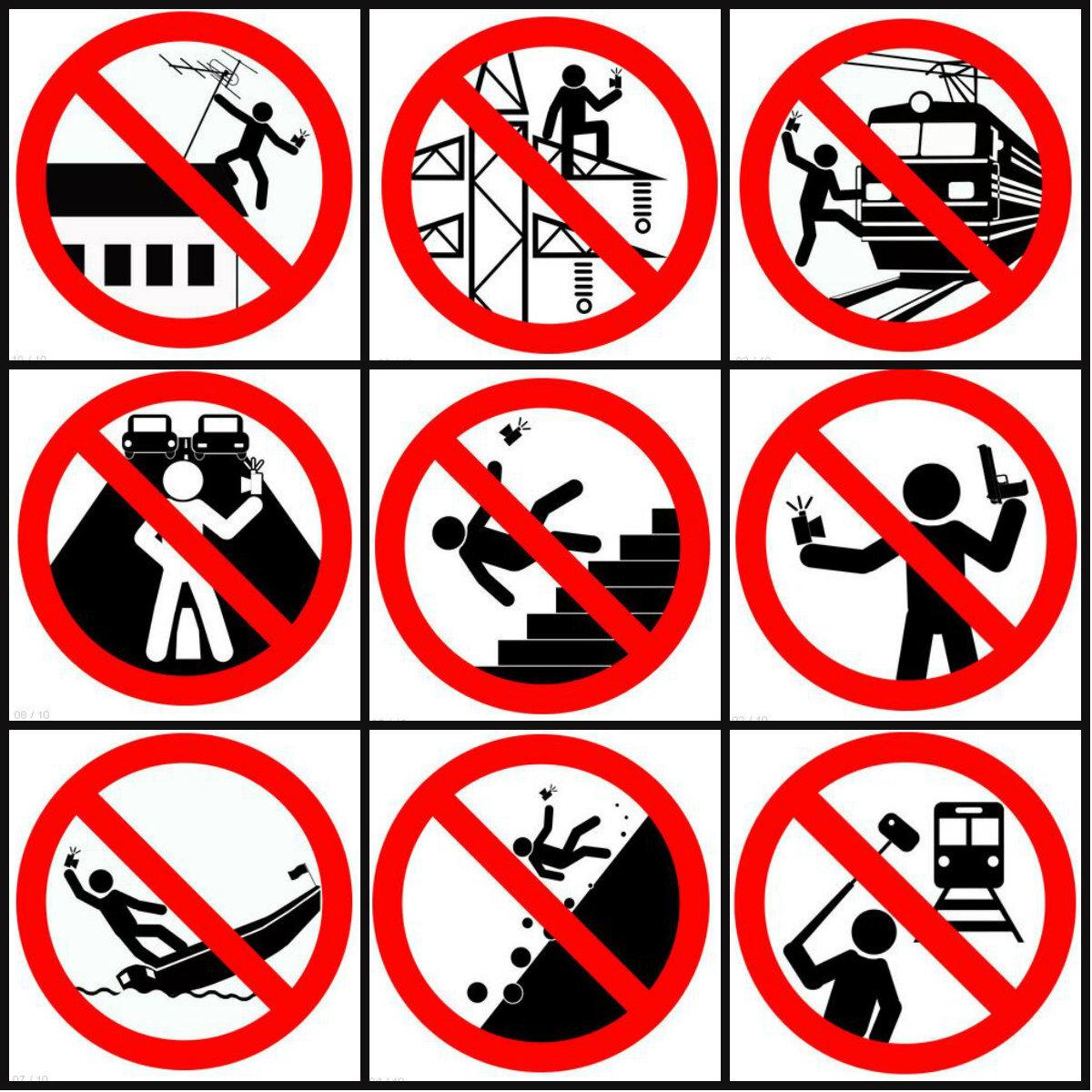 Resultado de imagem para proibido selfie rússia