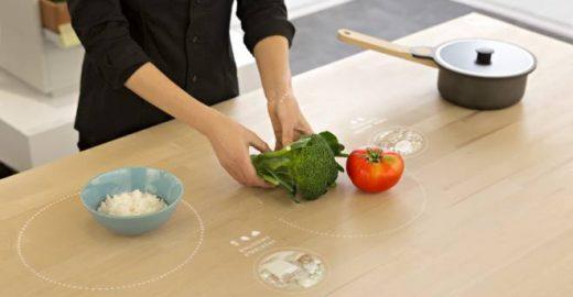 Cozinha inteligente recicla água e sugere receitas sem desperdício