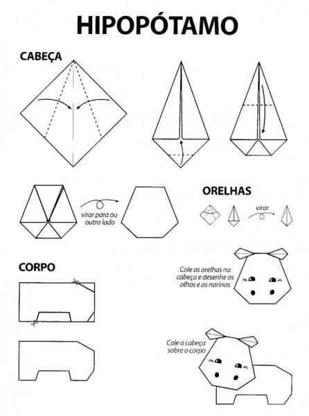 Well-known Quatro passos-a-passo para fazer dobraduras de papel simples FI82