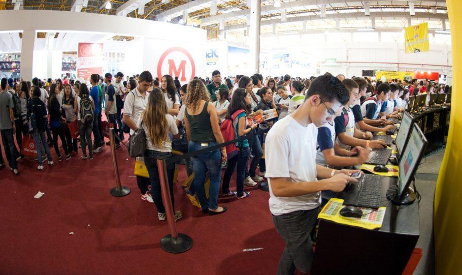 8ª Feira Guia do Estudante, em 2013. Foto: Divulgação