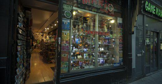 Lojas de 'cannabistas' em Amsterdã
