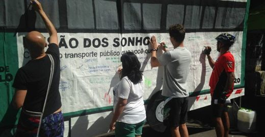 Atividade em SP convoca cidadãos para participar da licitação de ônibus