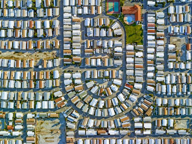 Série aérea reflete a desigualdade de renda em cidade nos EUA