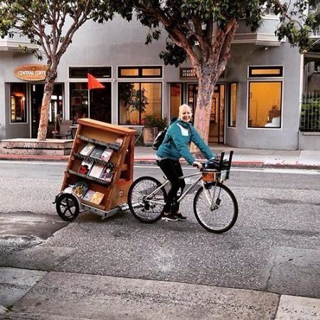 Reprodução/Bibliobicicleta