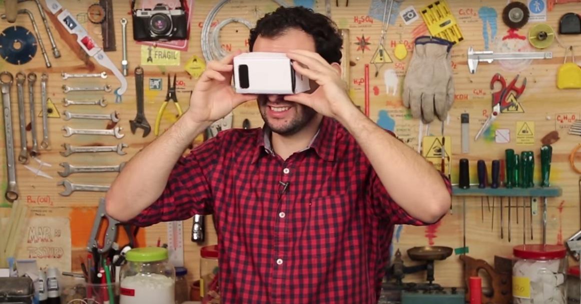 1e7de85212a Aprenda a fazer um óculos de realidade virtual caseiro