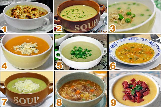 Nove receitas fáceis e saborosas de sopas e cremes
