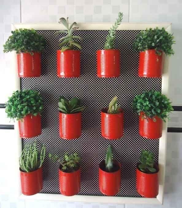jardim vertical latas:Pura Vida Picture Frame