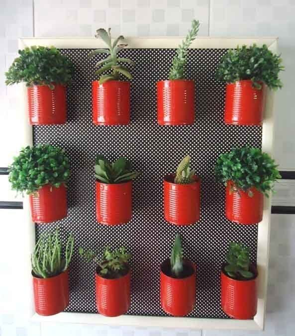 jardim vertical latas : jardim vertical latas:Pura Vida Picture Frame