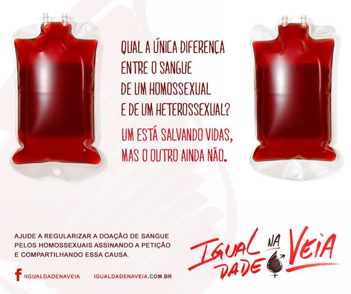 Projeto Busca Fim Das Restrições Para Homossexuais Doarem Sangue No