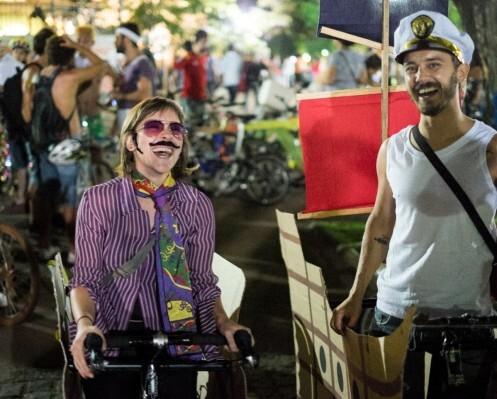 Bloco da Bicicletinha/ Foto: Reprodução
