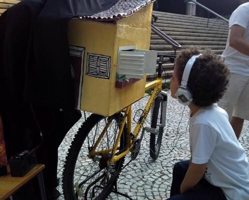 Ciclista Bonequeiros/ Foto: Reprodução