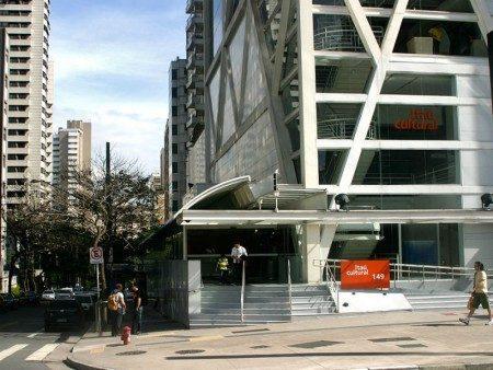 Sede do Itaú Cultural, na Avenida Paulista. O local é acessível para pessoas com deficiência física, visual, auditiva e intelectual