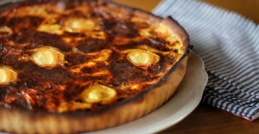 Aprenda a receita do quiche aos quatro queijos