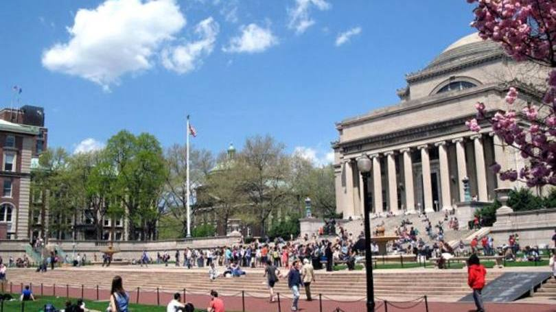 Universidade Columbia está localizada em Nova York