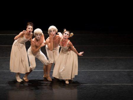 Cena do espetáculo sechs tanze da são paulo companhia de dança