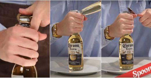 Vídeo mostra 21 maneiras de abrir uma garrafa de cerveja sem abridor
