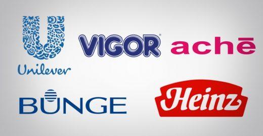 Vagas na Unilever, Vigor, Heinz, Bunge e mais