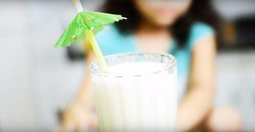 Refrescante e nutritivo: aprenda a fazer um frapê de coco, banana e aveia
