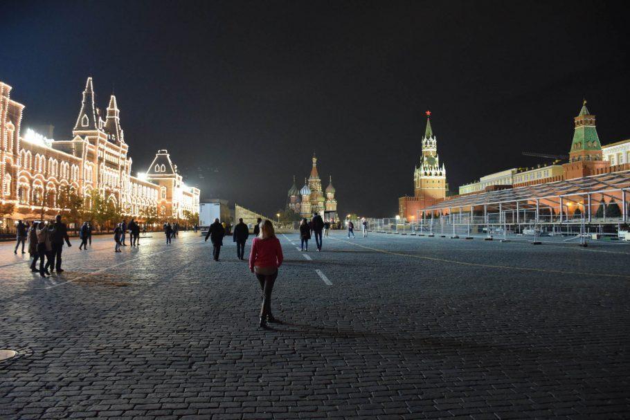 Praça Vermelha em Moscou