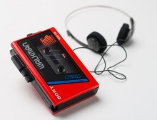 86/472-1:2 Sony Walkman cassette player, Japan, [1984] (with earphones)