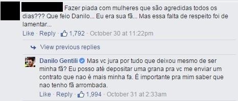 Danilo Gentili Satiriza Violência Contra Mulher E Debocha De Fã é