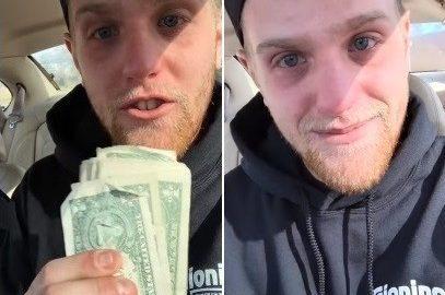 Entregador de pizza ganha R$ 1730 de gorjeta e grava vídeo agradecendo