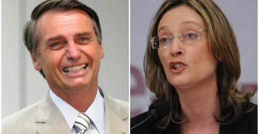 Maria do Rosário vai doar indenização que receberá de Bolsonaro