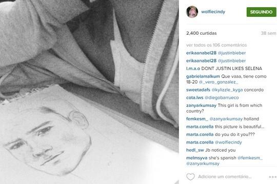 Com ajuda dos fãs, Justin Bieber descobriu quem é a garota misteriosa (Reprodução/Instagram)