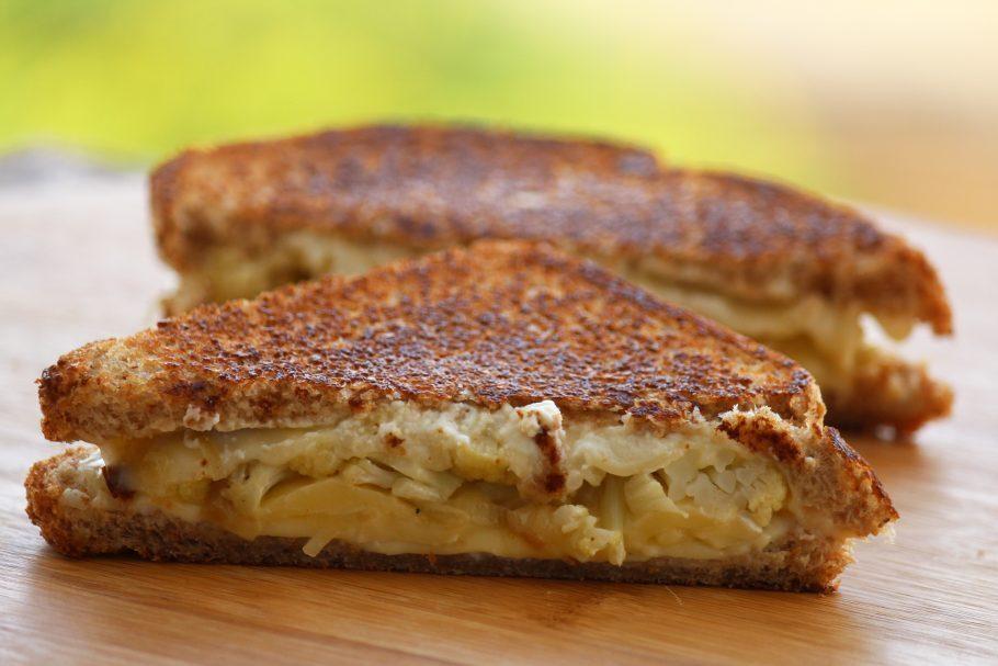 receitas de sanduíche vegetariano de couve-flor