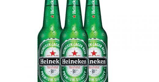 Heineken Long Neck 355ml com 15% OFF para as festas de fim de ano