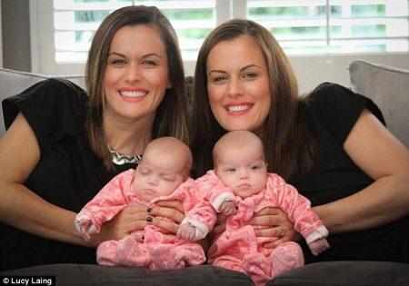 A chance de uma mulher estar grávida de gêmeos é de 3 em 1000