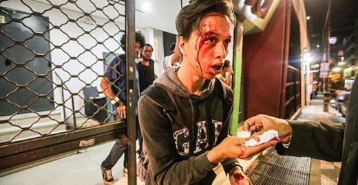 Funarte expõe violência policial em protestos dos estudantes secundaristas
