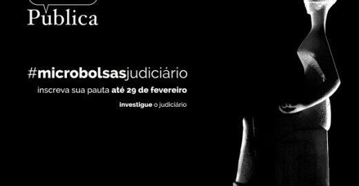 Agência Pública lança concurso de bolsas para pautas sobre o Judiciário