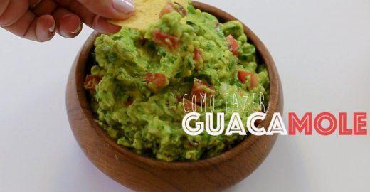 Comida mexicana: aprenda a fazer guacamole de maneira prática e rápida