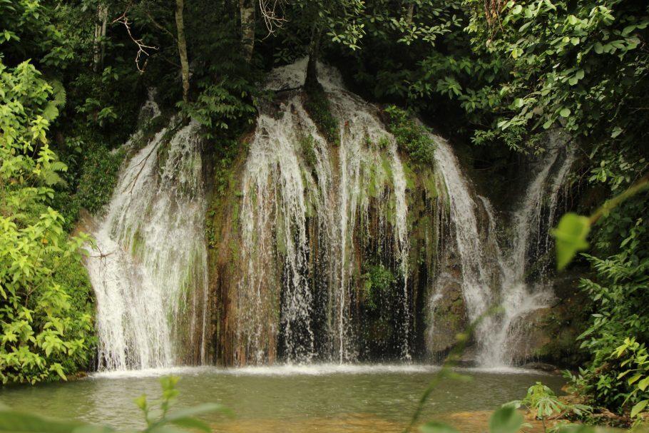 Cachoeira do Elefante na fazenda Rio do Peixe