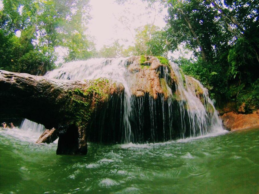 Mais uma cachoeira na Estância Mimosa