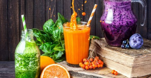 Curso grátis: aprenda a fazer comidas e shakes desintoxicantes