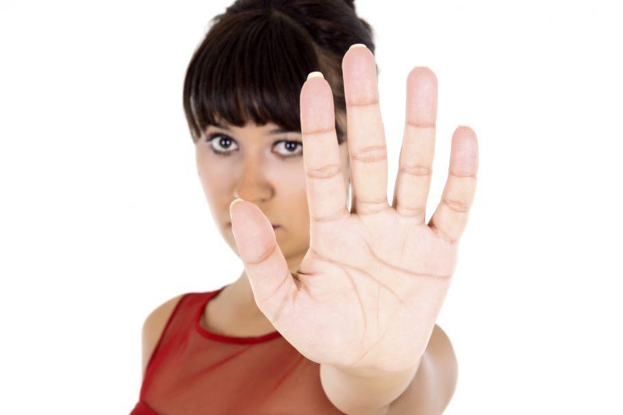 imagem contra assédio sexual