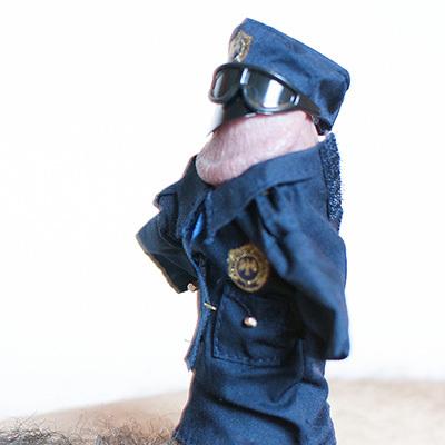 Officer Hogster. (Foto: Soraya Doolbaz/Dicture Gallery)