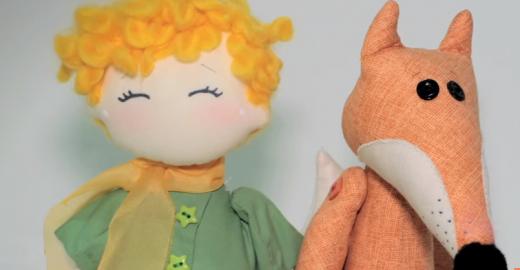Carnaval da Educação: videoaulas ensinam a fazer bonecos de pano do Pequeno Príncipe
