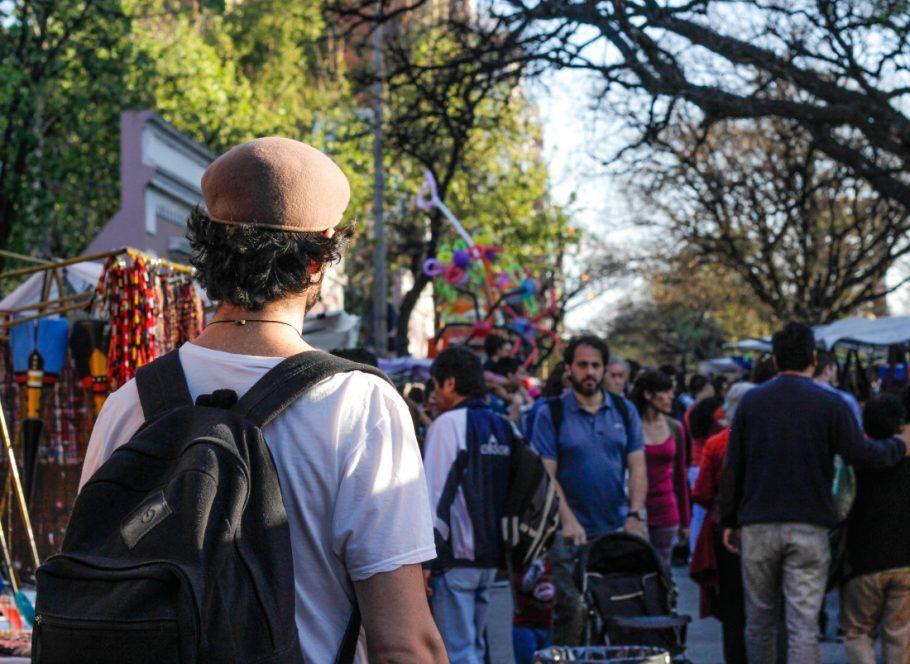 Passeando em Paseo de las Artes, Córdoba - primeira semana de viagem