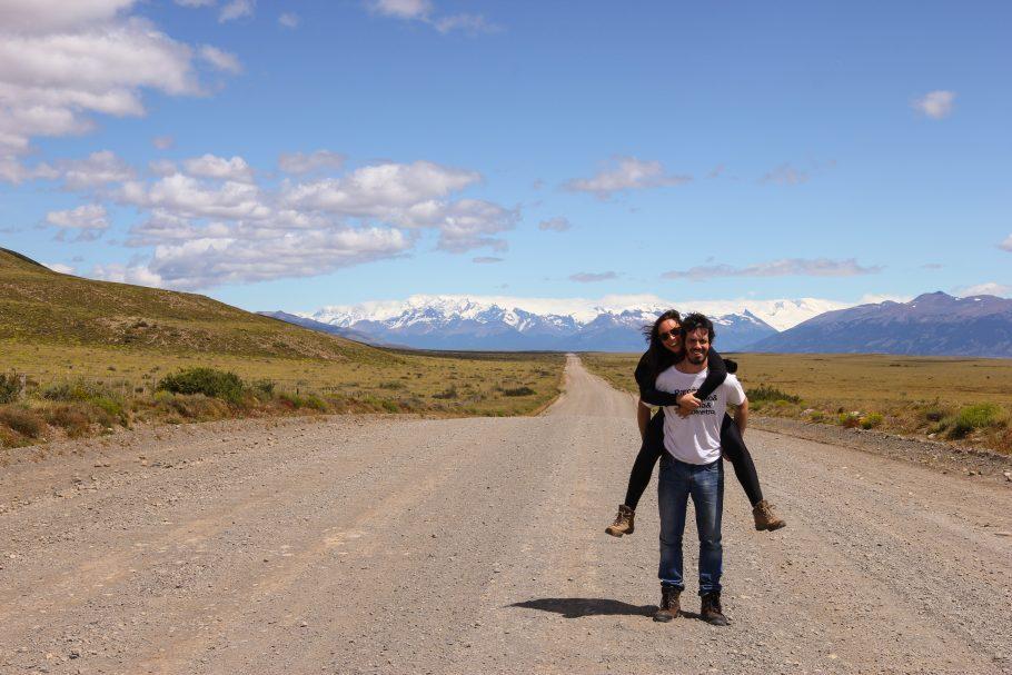Muito caminho pela frente - El Calafate, patagônia argentina (3 meses de viagem)
