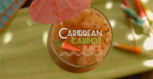 Traga mais sabor para o seu dia com um suco caribenho de cenoura