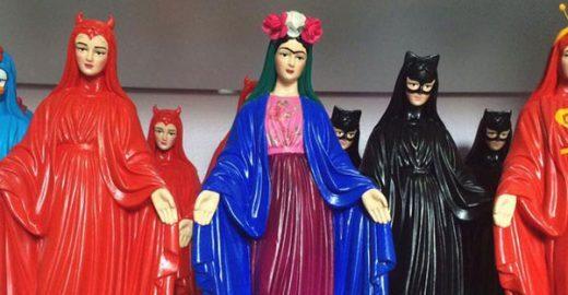 Igreja avalia processar criadora de estatuetas de santos baseados em personagens famosos