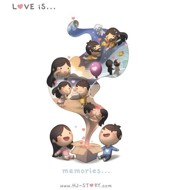 Amar é... memórias