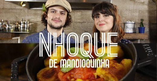 Itália com um toque brasileiro: nhoque de mandioquinha com molho de tomates frescos