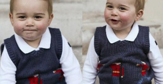 Cientistas mostram como será o rosto do Príncipe George quando crescer