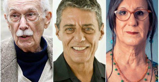 Chico Buarque e outros escritores assinam manifesto em defesa da democracia