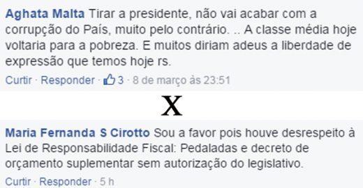 10 comentários de leitores do Catraca Livre que são contra o impeachment e 10 antigoverno